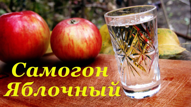 Самогон из яблок рецепт приготовления дома