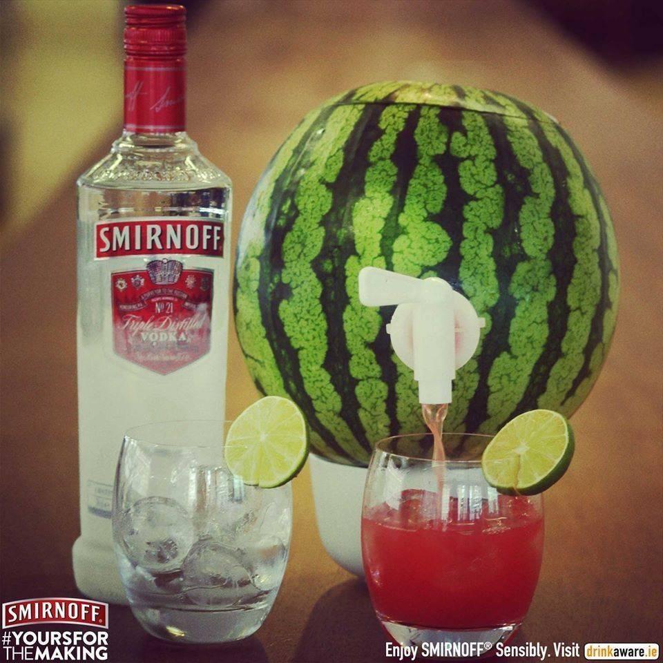 Как впитать водку в арбуз - wikihow