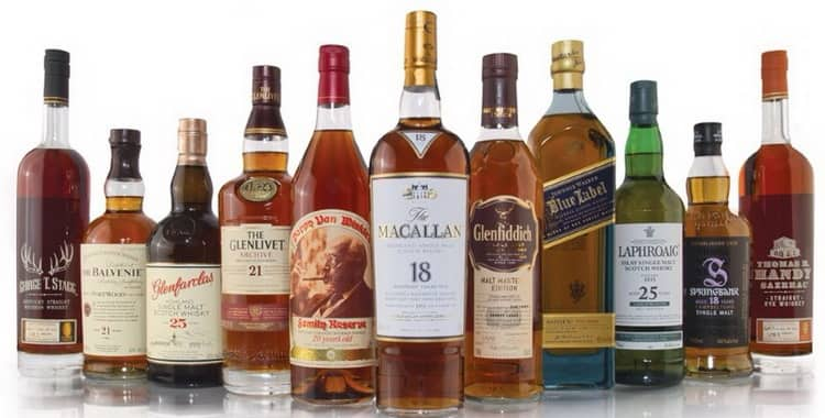 Виски — калорийность
