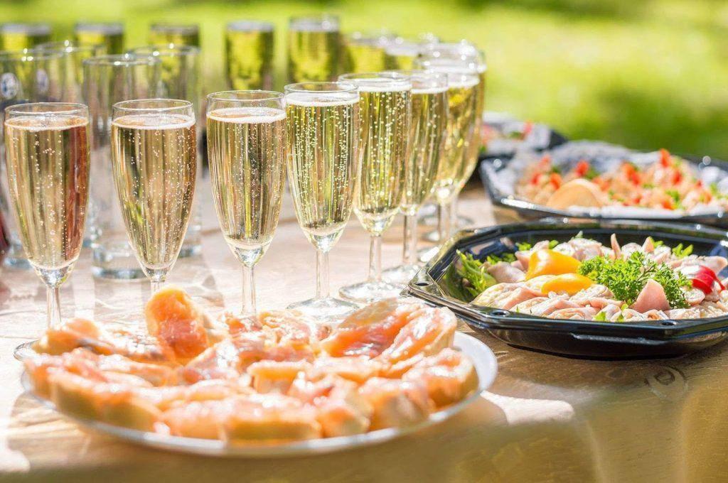 Закуска к шампанскому