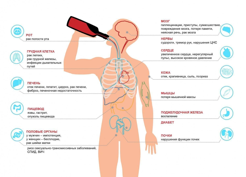 Употребление алкоголя при раке кишечника