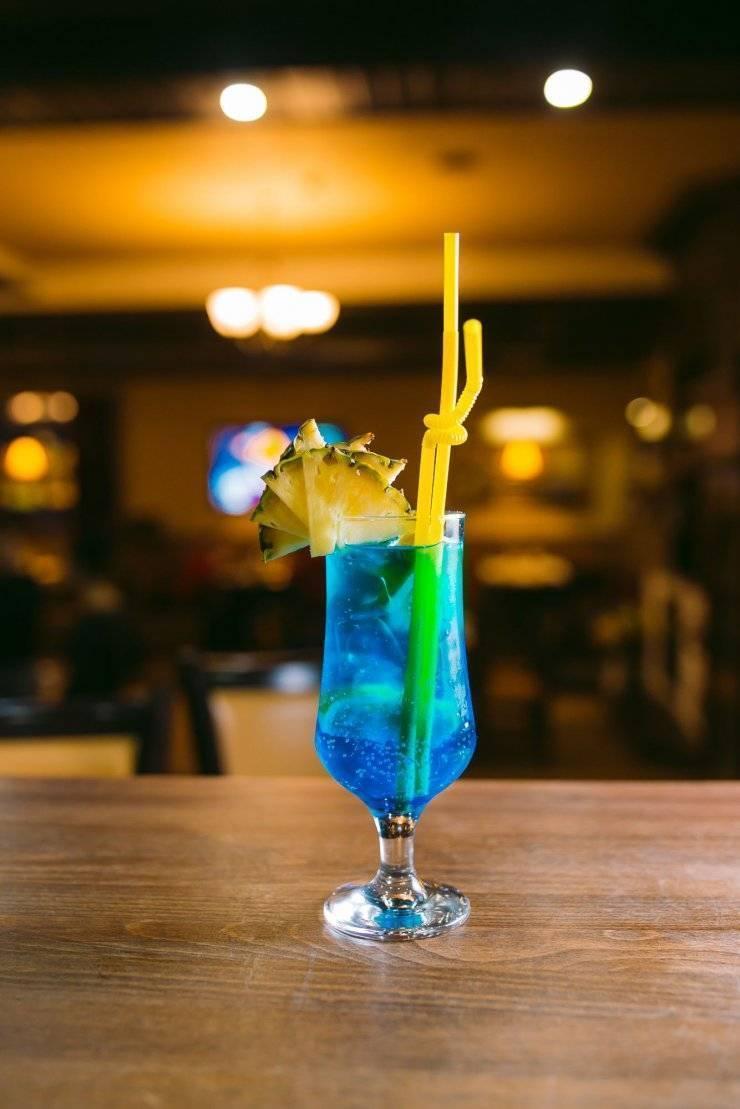 Коктейль безалкогольный голубая лагуна рецепт ?