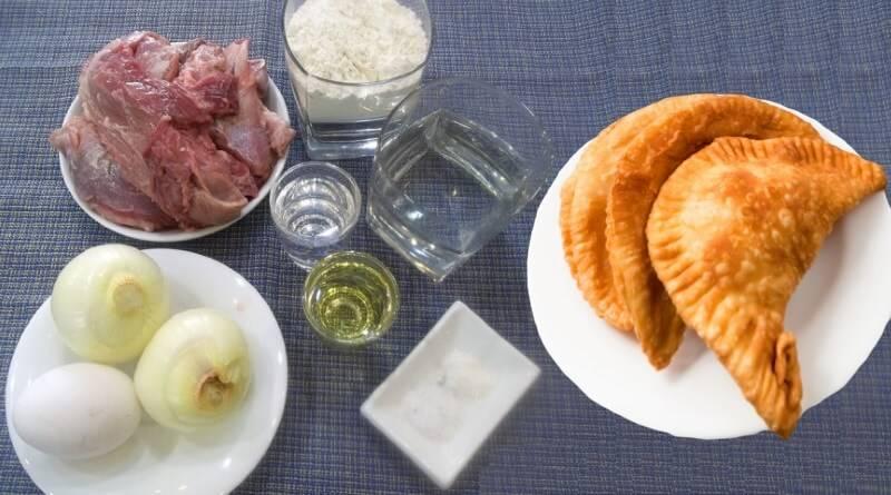 Чебуреки на водке: рецепт приготовления теста и начинки