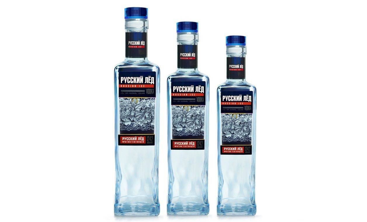 Водка «русский лёд»
