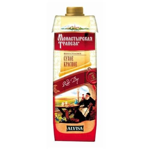 Вино «монастырская трапеза»: отзывы