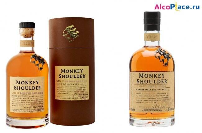 Виски манки шолдерс — история алкоголя