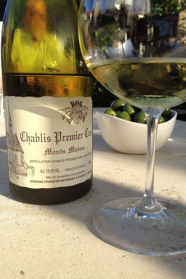 Обзор вина шабли