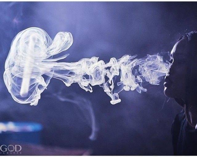 Как сделать медузу из пара или дыма - vapeshop электронные сигареты