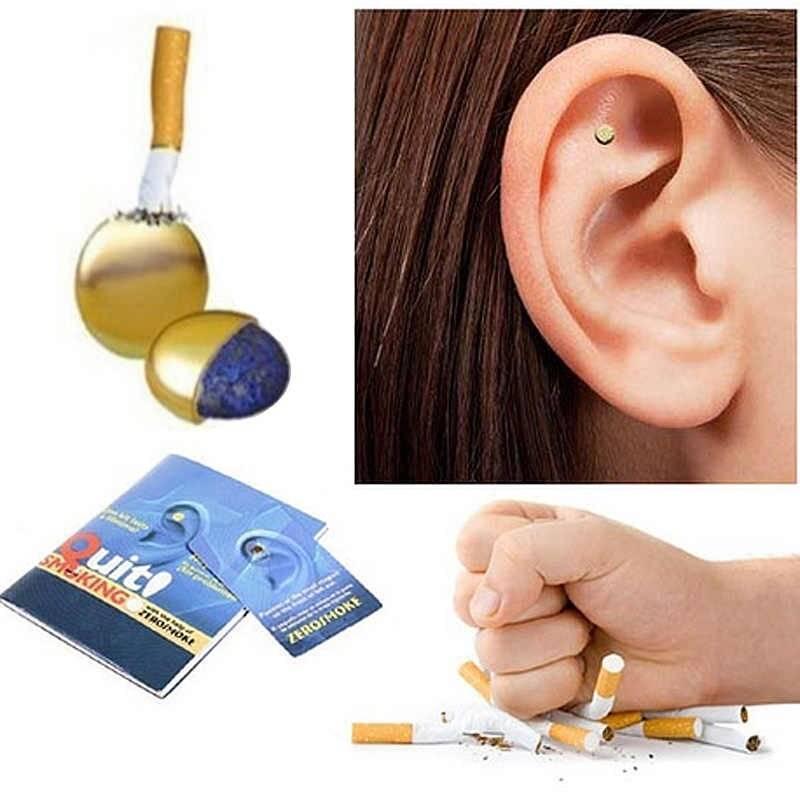 Магниты smokeclips. аурикулотерапия против курения — работает или нет?