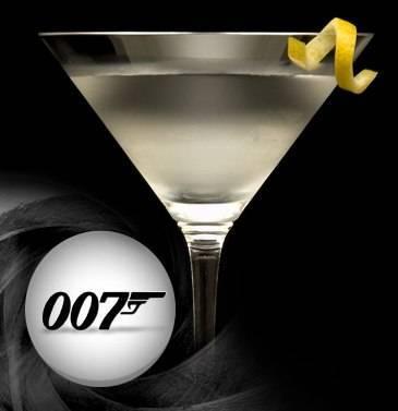 Коктейль джеймса бонда – любимые напитки киногероя