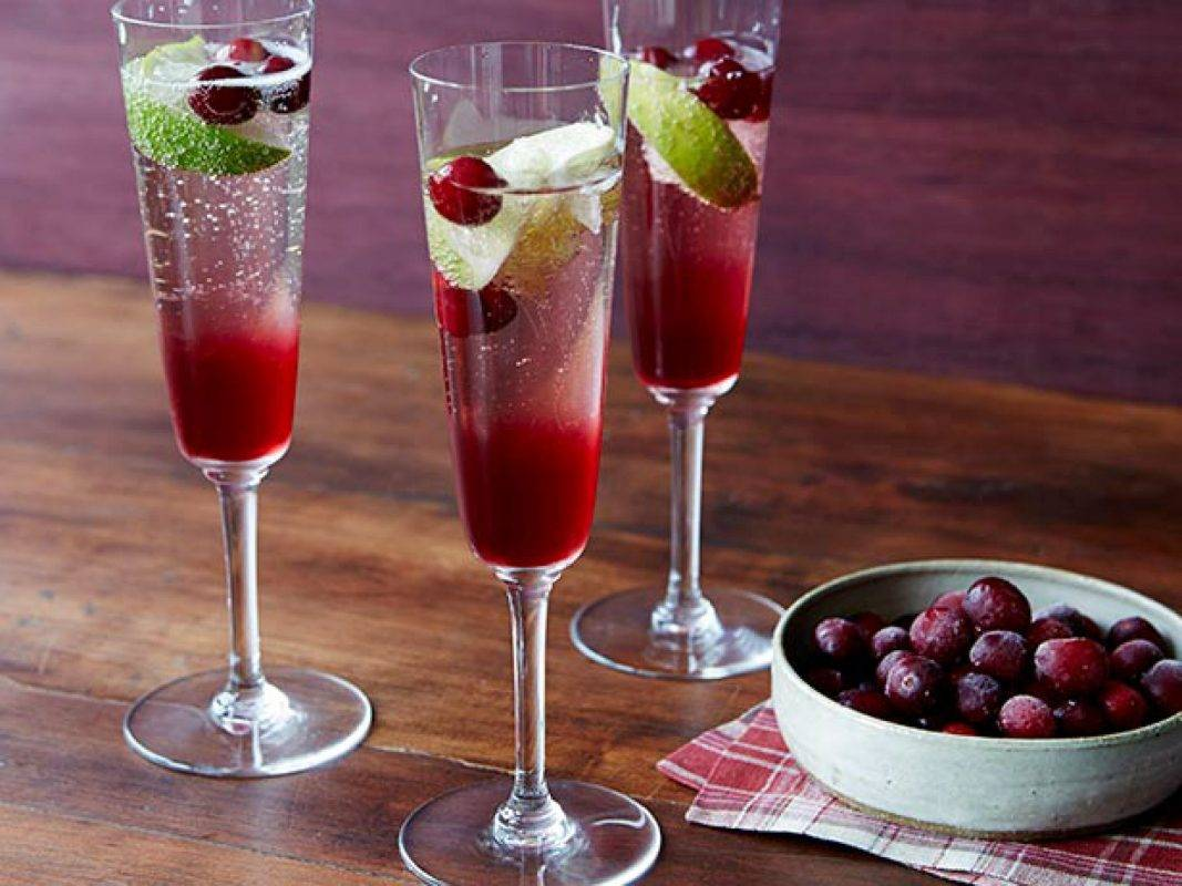 Коктейли с шампанским - необычные и оригинальные идеи приготовления вкусных напитков