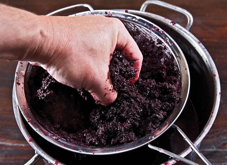 Рецепт вторичного вина из мезги винограда