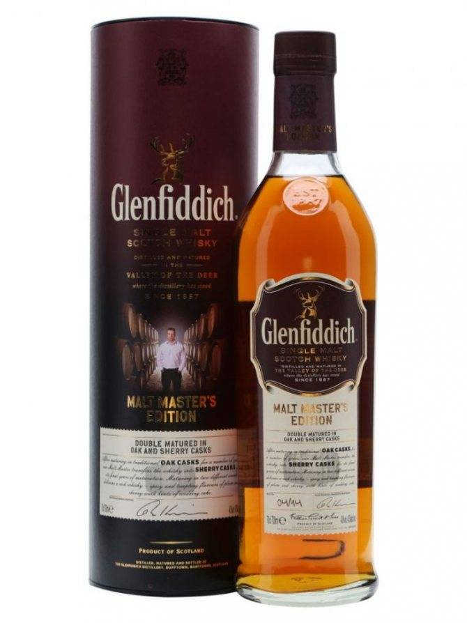Виски гленфиддик — королевский напиток шотландии