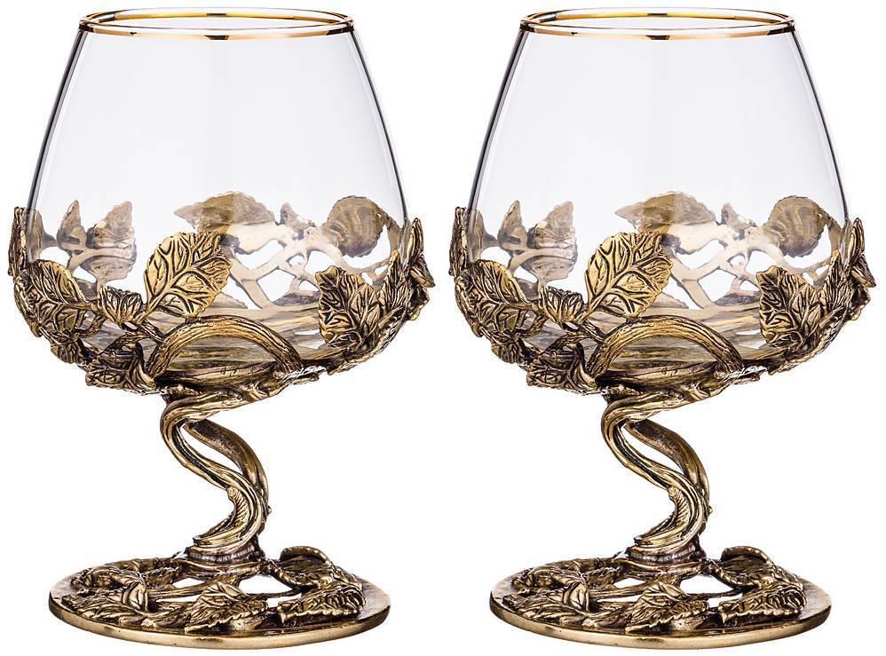 Как выбрать хрустальные коньячные бокалы в подарок: популярные производители