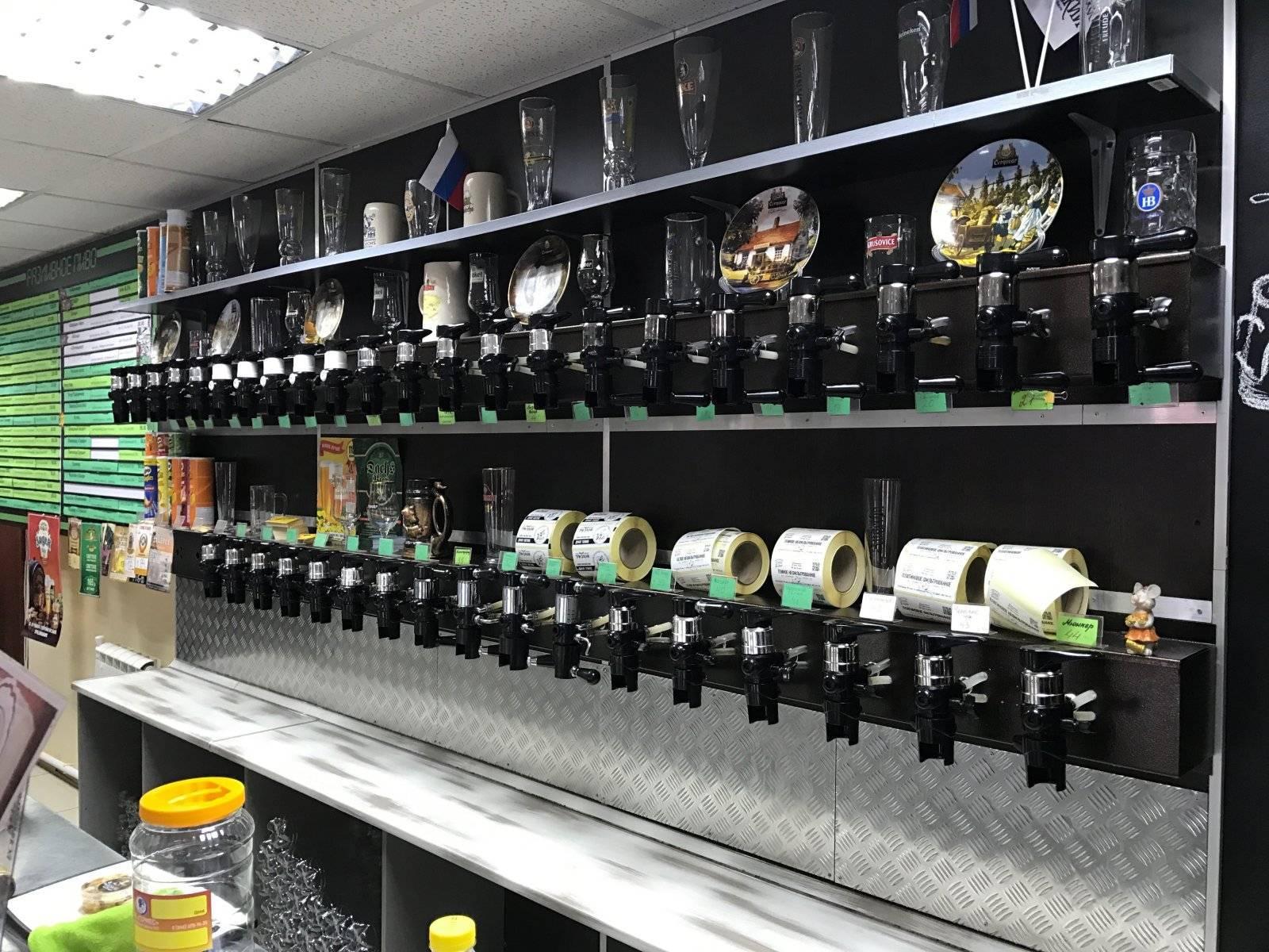 Как открыть магазин разливного пива - все затраты и бизнес план