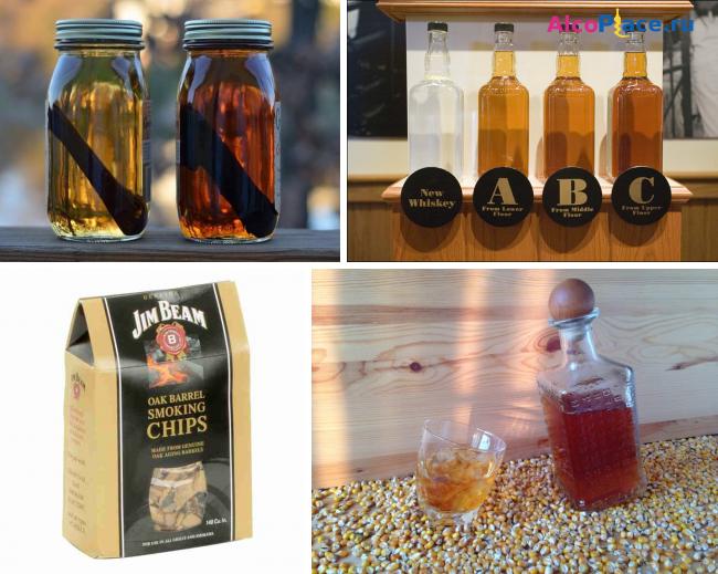 Домашний виски из самогона – 2 варианта имитации