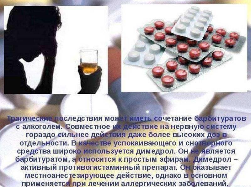 Спазмалгон при алкогольной интоксикации