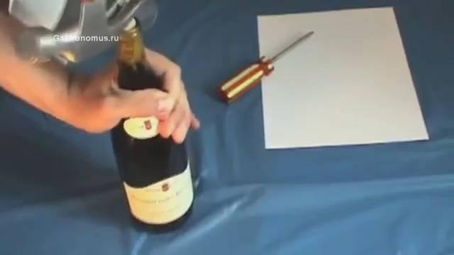 Способы открыть шампанское: штопором, ножом, без шума. Как открыть шампанское девушке