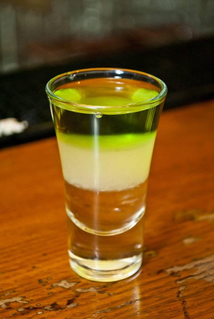 Коктейль «зеленый мексиканец» - рецепт, состав, пропорции