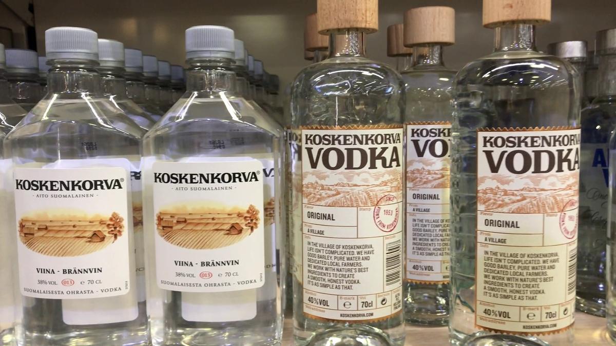 Обзор финской водки Коскенкорва