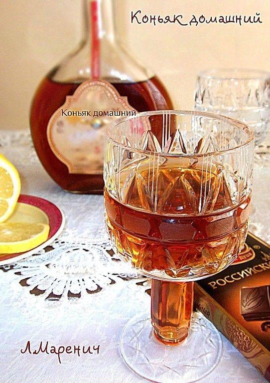 Домашний коньяк из спирта – рецепты приготовления