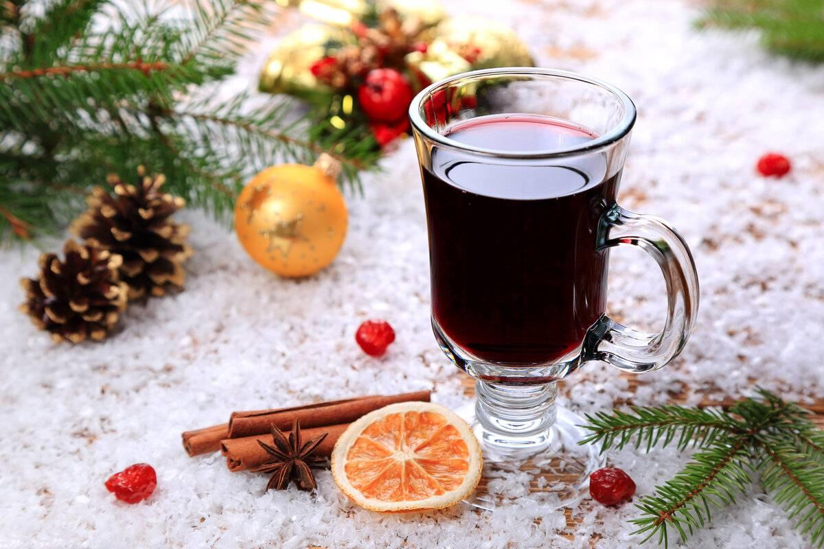 Напитки на рождественские праздники