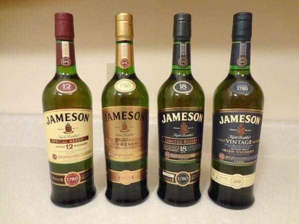 Jameson black barrel, select reserve, caskmates отзывы, особенности.