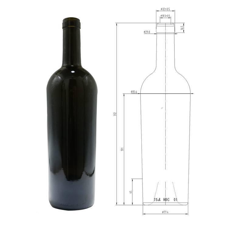 Гид по размерам винных бутылок