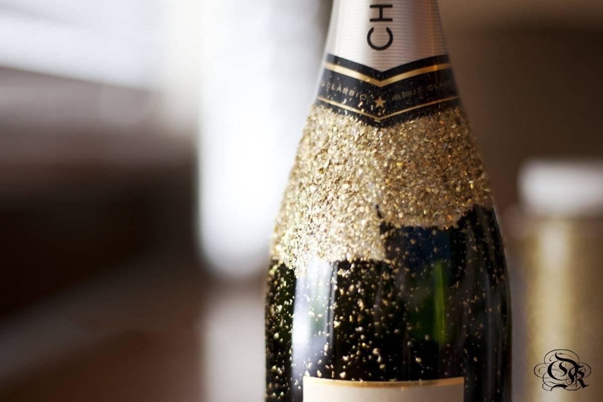Все о голубом шампанском с блестками