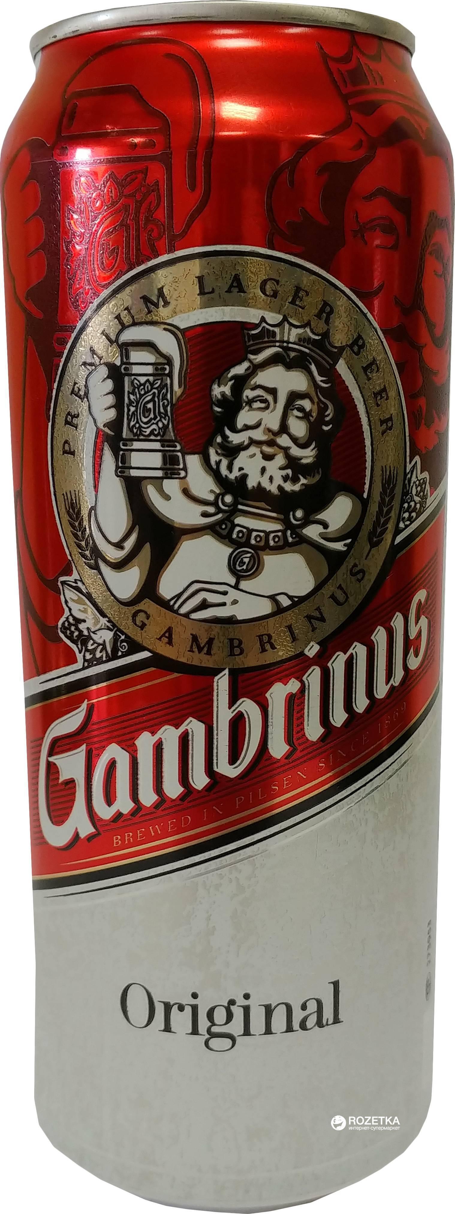Пиво гамбринус: все сорта знаменитого пенного из чехии