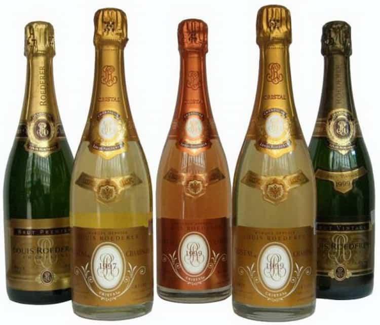 Шампанское кристалл: crystal louis roederer и другие виды напитка, описание, как отличить подделку