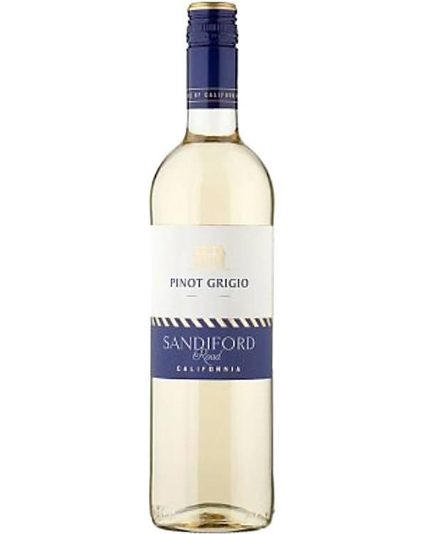 Пино гриджио белое сухое вино