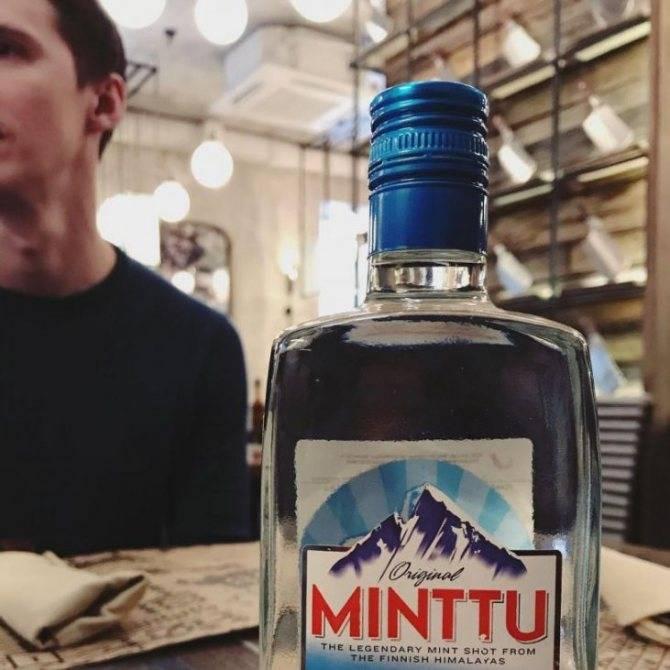 Ликер «минту» — крепкий элитный алкоголь из финляндии