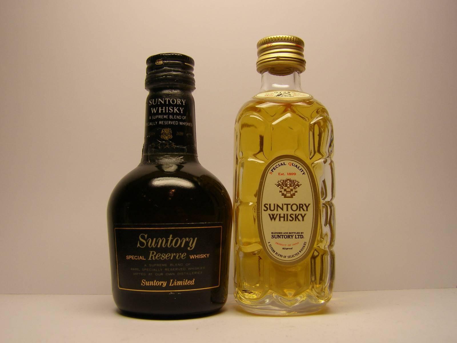 Виски suntory (сантори) и его особенности