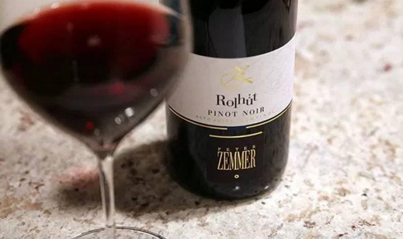 Красные вина пино-нуар | блог сомелье