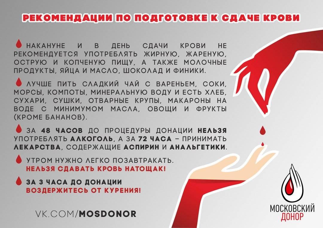 Можно ли сдавать кровь если пил алкоголь