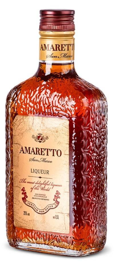 Ликер amaretto – виды и фото напитка; домашний рецепт, как сделать
