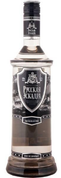 """Водка """"русская эскадра"""": отзывы, обзор серий, производитель"""