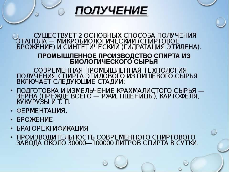 Медицинский спирт: разновидности аптечного этанола и можно ли его пить
