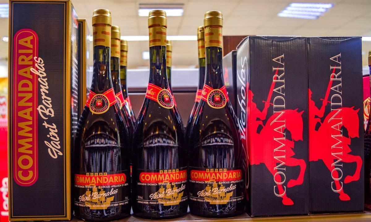 Сент джонс коммандария вино защищенного наименования места происхождения регион коммандария сладкое красное