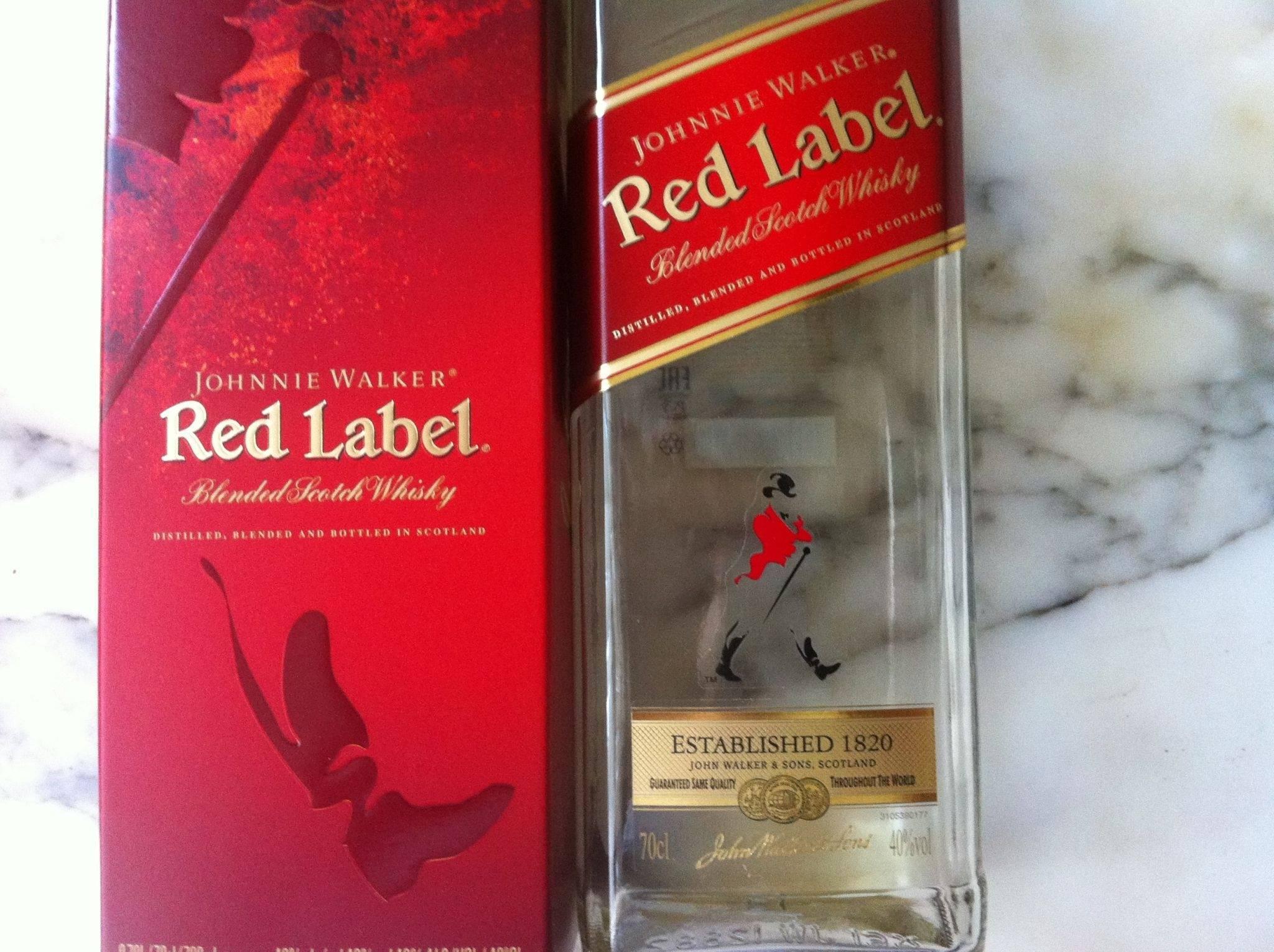 Обзор виски johnnie walker red label джонни уокер ред лейбл