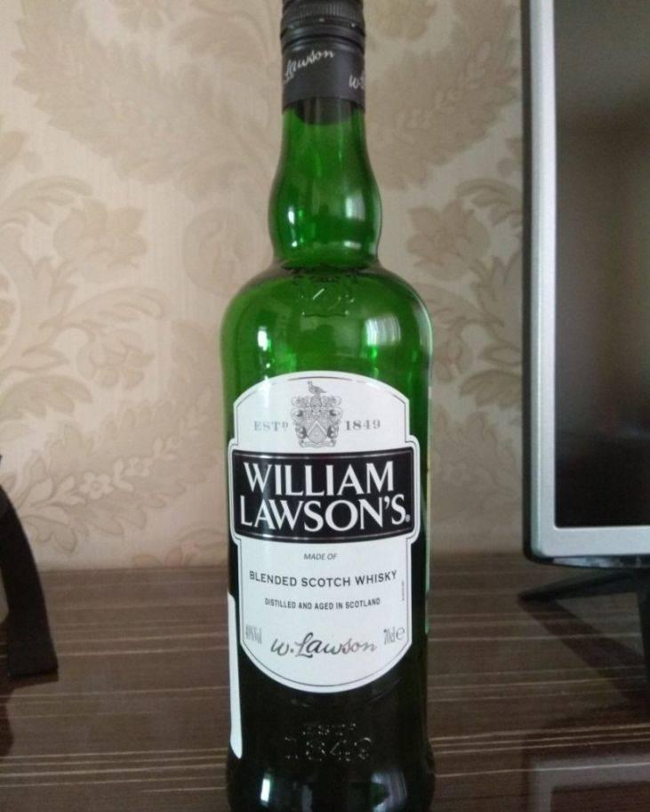 Виды виски william lawson s | bezprivychek.ru