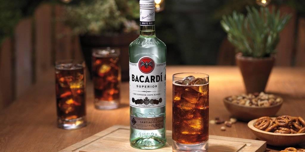 Как приготовить коктейли с бакарди