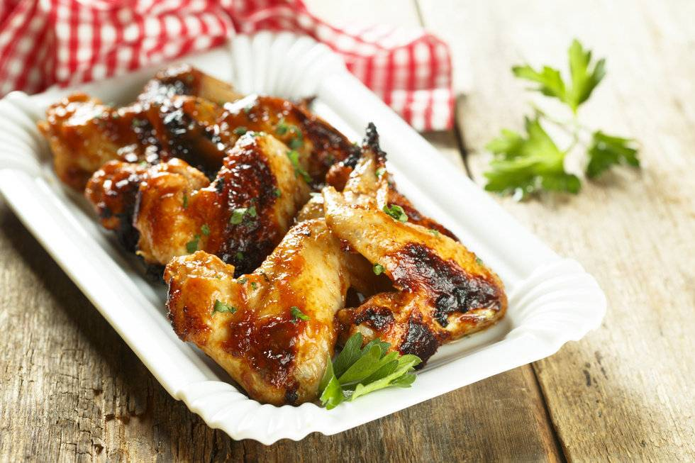 Куриные крылышки в духовке с хрустящей корочкой