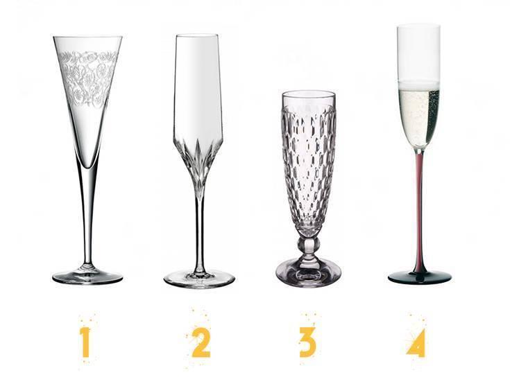 Какие бокалы под шампанское выбрать: хрустальные, стеклянные или серебряные