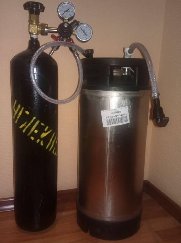 Карбонизация пива в кеге, в домашних условиях