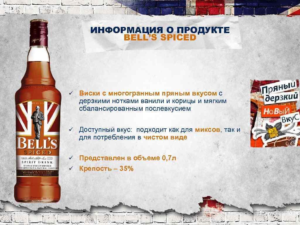 """Виски """"бэллс"""" bell's"""