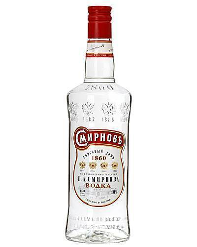 Водка «смирнов» (smirnoff) — что это за зверь и с чем его пьют?