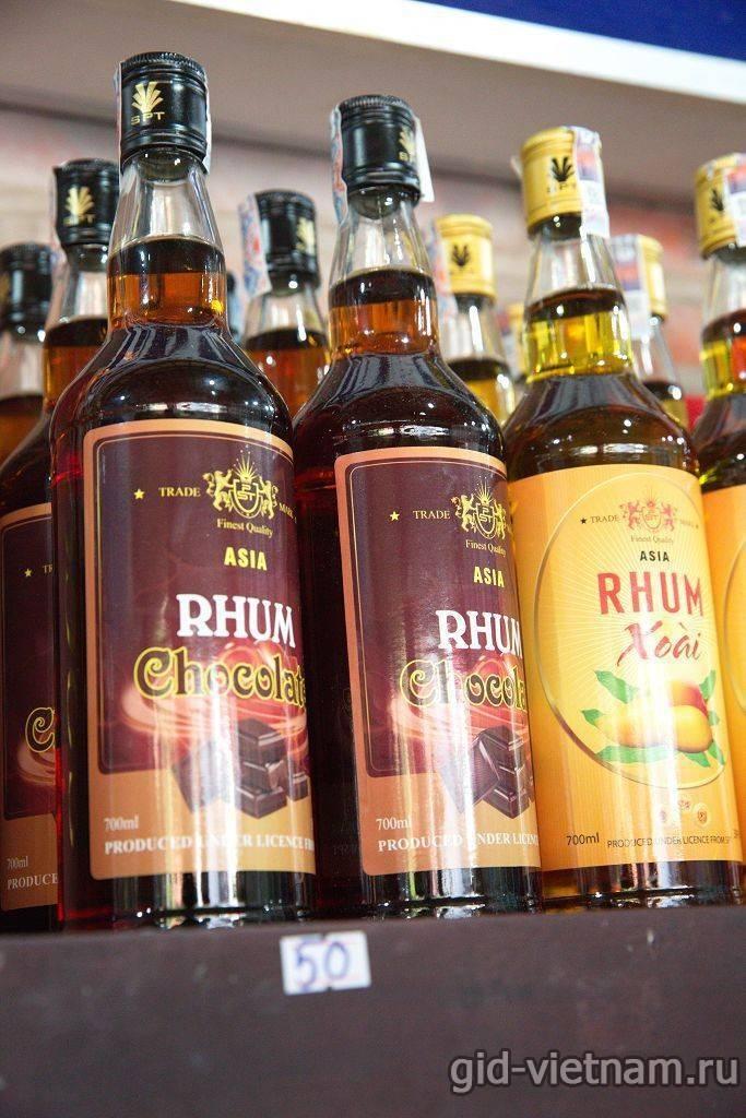 Вьетнамский ром: chanh rhum, rhum chauvet, isc rum — какой лучше