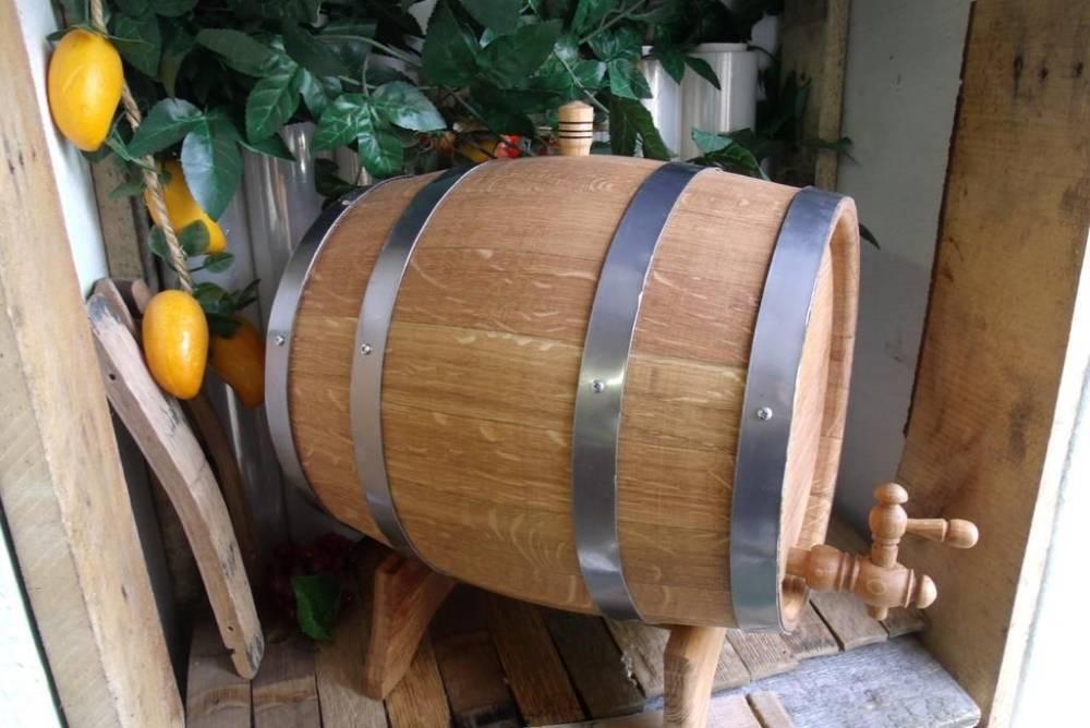 Подготовка дубовой бочки для самогона: что нужно сделать?